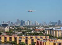 N967CG @ MIA - Avianca A330-200 arriving over Miami