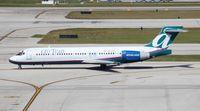 N972AT @ FLL - Air Tran 717
