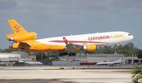 N987AR @ MIA - Centurion MD-11F ex Alitalia
