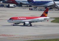 N992TA @ MIA - Avianca A319