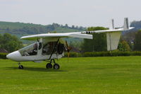 G-MWVG @ EGLS - at Old Sarum - by Chris Hall