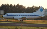 N1022C @ X04 - Convair 240 in Pan Am colors, has sat here for a few years - by Florida Metal