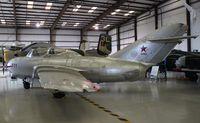 N2400X @ TIX - Polish built Mig-15