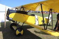N2466C @ LAL - Fokker D-VII replica