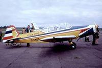 D-EMUD @ EGTU - Zlin Z.226T Trener 6 [370] Dunkeswell~G 28/05/1973 - by Ray Barber