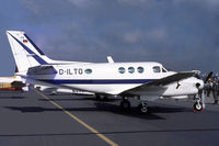 D-ILTO @ EGVI - Beech B90 King Air [LJ-453] RAF Greenham Common~G 27/06/1981. Taken from a slide. - by Ray Barber