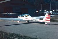 D-KEBA @ LSZA - Hoffmann H.36 Dimona  [3667] Lugano~HB 27/09/1984 - by Ray Barber