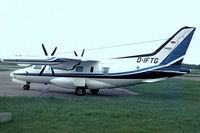 D-IFTG @ EDDK - Mitsubishi MU-2B-60 Marquise [7795A] Cologne-Koln Bonn~D 20/05/1982. Taken from a slide. - by Ray Barber