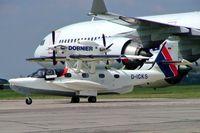 D-ICKS @ EDDB - Claudius Dornier CD-2 Seastar [1002] (Dornier Seaplane Company) Berlin-Schonefeld~D 15/03/2004 - by Ray Barber