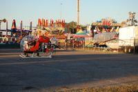 N3079G - Bat Copter giving rides at the Florida State Fair (Tampa)