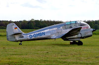 D-GHBN @ EDAD - Aero Super 45 [51159] Dessau~D 23/03/2004 - by Ray Barber