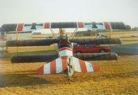 N72517 @ IS65 - Fokker DR1 N72517 - by Paul Richardson