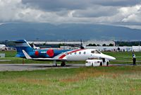 C-GHJU @ YVR - Without Ambulance titles,preparation for towing - by metricbolt