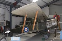 B619 @ EGMH - B619 (B619), Sopwith 1½ Strutter replica, used in the 2006 film, Flyboys, about, Fighter Pilots in the Lafayette Escadrille, the 124th Air Squadron formed by the French in 1916, seen at RAF Manston Museum. - by Derek Flewin