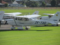 ZK-TAG @ NZAR - One of many aero club cessnas at Ardmore - by magnaman