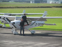 ZK-TAP @ NZAR - Getting ready to go. - by magnaman