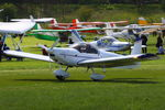 G-CGVZ @ EGHP - at the 2014 Microlight Trade Fair, Popham - by Chris Hall