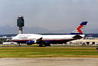 C-FGHZ @ CYVR - CYVR - Canadien 747-400 departing Vancouver,BA - by Tom Vance