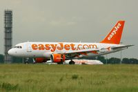G-EZAL @ LFPG - Airbus A319-111, Landing Rwy 26L, Roissy Charles De Gaulle Airport (LFPG-CDG) - by Yves-Q