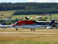G-CHCS @ EGPD - CHC Scotia G-CHCS take off at Aberdeen EGPD - by Clive Pattle