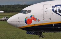 EI-DYT @ EGHH - Beach balls..and barbed wire ! - by John Coates