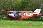 G-BUWK @ EGHP - at the 2014 Microlight Trade Fair, Popham - by Chris Hall