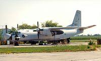 407 @ LHSN - Antonov An-26 [34-07] (Hungarian Air Force) Szolnok~HA 17/06/1996 - by Ray Barber