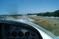 CS-UQF @ LPBR - short final runway 25 at my home airfield. thanks to Joao Gomes! - by Mario Fontes