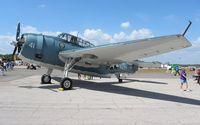 N3967A @ EVB - TBM-3U at New Smyrna Beach Air Show