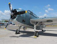 N3967A @ EVB - TBM-3U at New Smyrna Beach Airshow