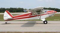 N4071E @ LAL - Piper PA-18-150 at Sun N Fun