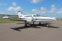 N4169G @ LAL - Cessna 402B at Sun N Fun