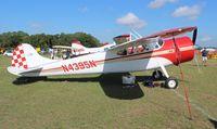 N4395N @ LAL - Cessna 195 in vintage parking at Sun N Fun