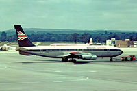 G-ARWD @ EGKK - Boeing 707-465 [18372] (British Airtours) Gatwick~G 01/07/1974 . From a slide.
