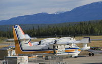 C-GFSK @ CYXY - On the ramp at Whitehorse, Yukon, en route to Alaska. - by Murray Lundberg