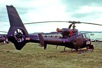 XZ341 @ EGVI - Aerospatiale SA.341B Gazelle AH.1 [1692] (Army Air Corp) RAF Greenham Common~G 24/06/1979. From a slide.