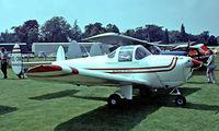 OE-CVA @ EGTH - Erco 415C Ercoupe [570] Old Warden~G 11/07/1982. From a slide.