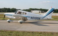 N5106W @ LAL - PA-28-160 at Sun N Fun