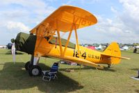 N5118N @ LAL - Stearman N2S at Sun N Fun