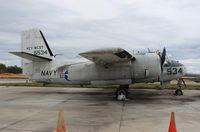N5244B @ ISM - Grumman S-2B Tracker at Kissimmee Air Museum