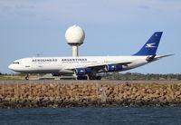 LV-ZRA @ YSSY - Aerolineas Argentinas. A340-211. LV-ZRA cn 085. Sydney - Kingsford Smith International (Mascot) (SYD YSSY). Image © Brian McBride. 05 August 2013 - by Brian McBride