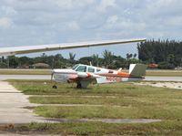 N6061E @ OPF - Beech K35 Bonanza - by Florida Metal