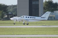 N6161Z @ ORL - Cessna 414 - by Florida Metal