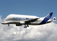F-GSTD @ LFBO - Landing rwy 32L in Airbus house c/s - by Shunn311