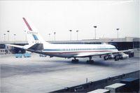 N8015U @ DTW - United DC-8-21 taken by my grandfather Louis Dzialo circa 1974 - by Florida Metal