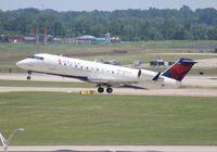 N8501F @ DTW - Delta Connection CRJ-200
