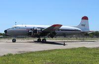 N9015Q @ OPF - C-54D from rampside at Opa Locka