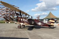 N9125 @ FA08 - New Standard D-25 biplane rides at Fantasy of Flight - by Florida Metal