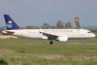 HZ-ASE @ LIRF - Taxiing