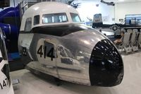 N43883 @ NPA - C-118 nose at Naval Aviation Museum